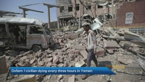One civilian dying every three hours in Yemen fighting – Oxfam